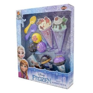 Kit Sobremesa Frozen Toyng