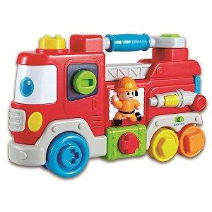 Carrinho De Bombeiro  Zp00184 - Zoop Toys