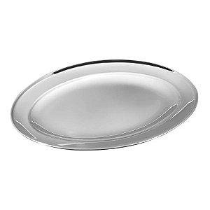 Travessa Oval inox 35cm - Yangzi