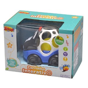 Carrinho Interativo Sortido ZP00652 - Zoop Toys