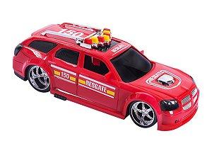 Carro Tuning Resgate Bombeiro 357 - Bs Toys