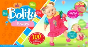 Boneca Bolita  100 Frases