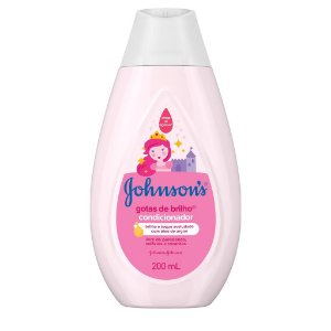 Condicionador Johnson Gotas de Brilho  200ml