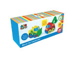 Block Car Construtor- Bell Toy