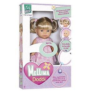 Boneca Mellina Dodói Que Fala 31cm 359 - Super Toys