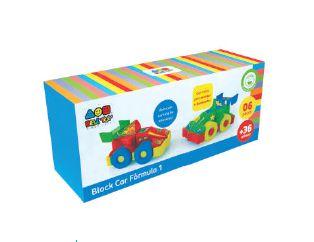 Block Car Fórmula 1- Bell Toy