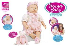Boneca Cheirinho  Roma Baby