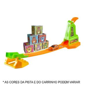 Pista De Carrinho Crazy Streets Crash 327 - Bs toys