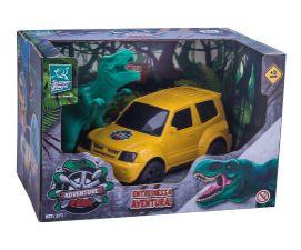 Carrinho Com Dinossauro Adventure Park - Super toys