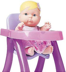 Nenequinha Cadeirão Rosa - Super toys