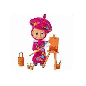 Boneca Masha e o Urso Pintura Divertida - Sunny