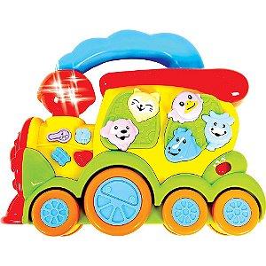 Trem Fazendinha - Zoop Toys