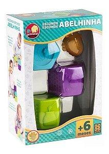 Brinquedo Educativo - Esconde Esconde - Abelhinha - Grow