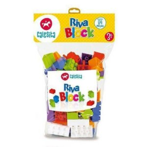 Brinquedo Educativo Riva Block 84pcs Calesita