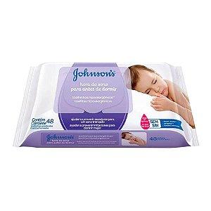 Lenços Umedecidos 48 Unidades Hora do Sono Johnson's