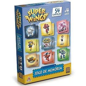 Jogo De Memória Super Wings 54 Pares - Grow