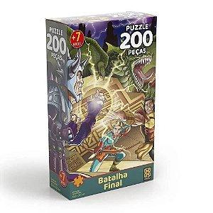 Batalha Final 200 Peças Quebra Cabeça 03569 - Grow
