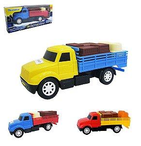 Caminhão carreta mini com carga - Diverplas
