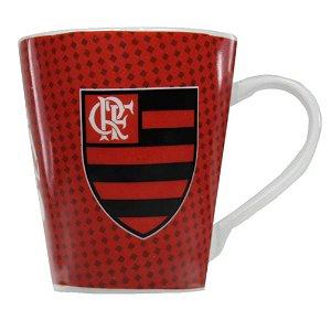 Caneca Porcelana Flamengo Allmix