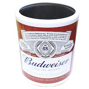 Porta Lata em Alumínio Budweiser - Doctor Cooler