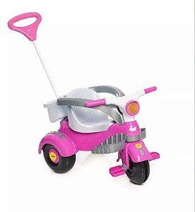 Triciclo Infantil Bike Velocita Classic Rosa 994 Calesita