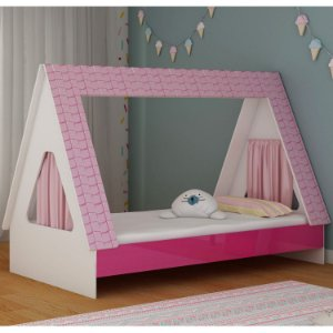 Cama Gelius Cabaninha  Br Pink