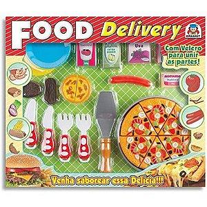 Food Delivery Pizza Comidinha Brinquedo - Braskit