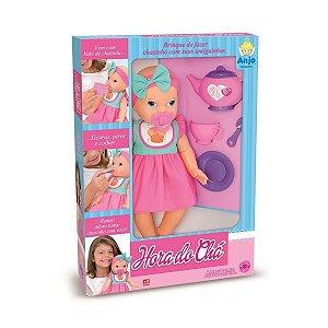 Boneca Hora Do Chá - Brinquedos Anjo