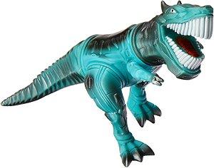 Robossauro Azul Brinquedo Anjo