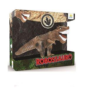 Robossauro Marrom 2142 - Brinquedos Anjo