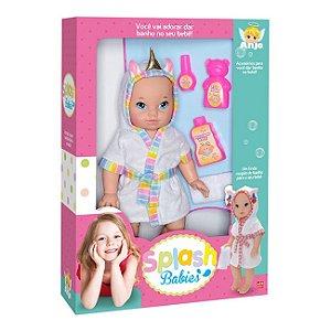 Boneca Splash Babies Unicórnio Rosa - Brinquedos Anjo