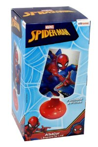 Abajur Led Spiderman Etitoys