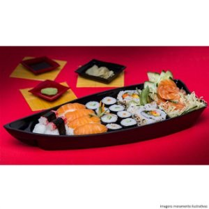 Kit Sushi- 3,5L Preto- VemPlast