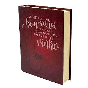 Kit Vinho Zona Criativa Livro - Boa Garrafa