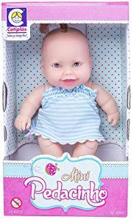 Boneca Cotiplás Coleção Bebê Mini Pedacinho