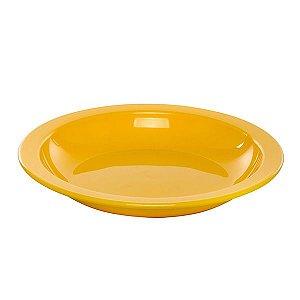 Prato Fundo Amarelo- VemPlast