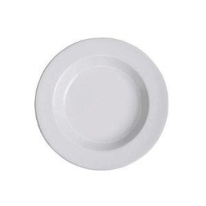 Prato Fundo Branco-  VemPlast
