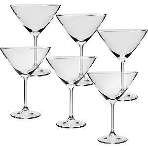 Jogo de 6pçs Taças Martini 280ml - Full Fit