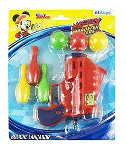 Boliche Lançador de Bolas Mickey Etitoys
