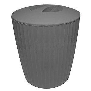 Cesto De Lixo - Chumbo - Martiplast