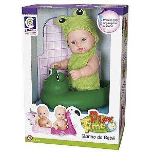 Banho Do Bebê Sapinho Play Time