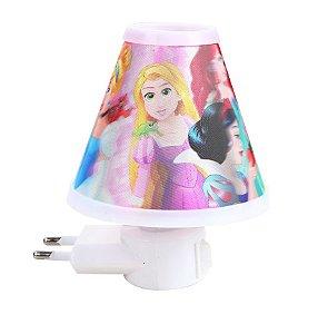 Luminária Em Formato Cone Princesas Etitoys