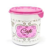 Pote decorado doce lar café 1,4l - Plasvale