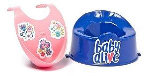 Baby Alive Kit Babador E Penico Cotiplás