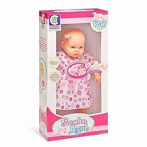 Bebê Reborn Realista Com 120 Frases E 56cm Coleção Sonho Azul Cotiplás