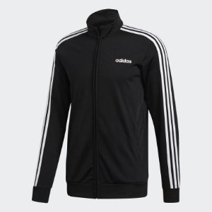 Jaqueta Adidas De Malha Essentials 3-Stripes