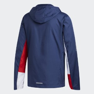 Jaqueta Adidas Corta Vento Own The Run Hooded