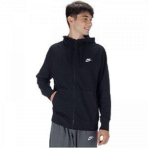 Jaqueta com Capuz Nike Club Masculino - Preto
