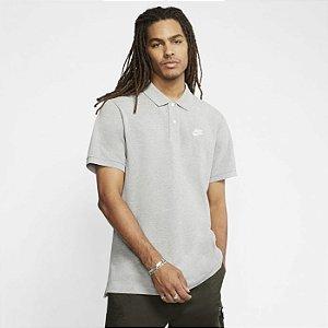 Camisa Polo cinza Sportswear Masculina - Nike