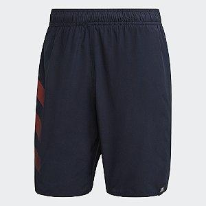 Bermuda Adidas Natação Bold 3-Stripes CLX